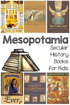 History doesn't have to be boring – I swear! You can get your kids interested … Ancient Mesopotamia Secular History Book List Read World History Teaching, Ancient World History, World History Lessons, Homeschool Apps, Homeschooling, History Books For Kids, Ancient Mesopotamia, Ancient Civilizations, 6th Grade Social Studies