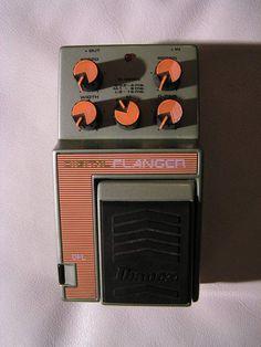 Ibanez DFL Digital Flanger guitaresvintages images. The ugliest pedal I have ever seen!