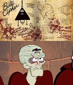 BLIND IVAN AND BILL CIPHER?! Gravity Falls