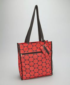 Another great find on #zulily! Red Dot Basic Tote Bag #zulilyfinds