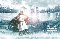 Learn how to create a winter season photo manipulation using Photoshop actions. The Winter is Coming Photoshop manipulation tutorial was inspired by a famous TV series. We'll create a medieval scene with a knight as a focus point and a castle on the background. To create the winter landscape we'll add snowfall effects, mist and fog and of course we'll change the color tones to obtain the season change.