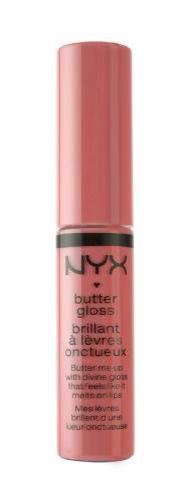 NYX butter gloss in Apple Strudel