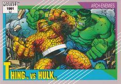 Thing vs Hulk ('91)