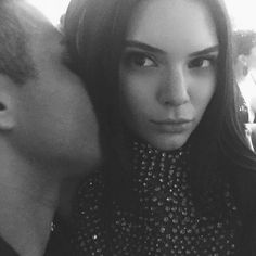 Olivier Rousteing and Kendall Jenning (from @kendalljenner). See all the best celebrity Instagrams from the Met gala.