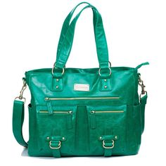 "Kelly Moore ""Libby"" Bag - Kelly Green, Emerald. I want this soo bad !! <3 <3"