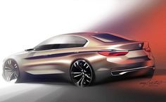 BMW Official Sketch by cardesigndaily