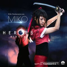 Kiki Sukezane as (Miko) #HeroesReborn