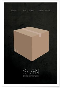 Se7en als Premium Poster von Calm The Ham | JUNIQE