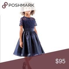 Navy blue cap sleeve lace dress BOUTIQUE  2T 4T 6X Navy blue cap sleeve lace dress BOUTIQUE  2T 4T 6X Dresses Formal