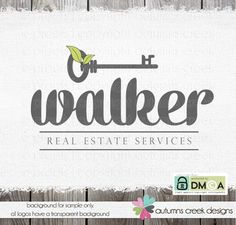 realtor logo  real estate logo  broker logo  House by autumnscreek