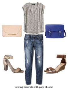Putting Me Together: Style Help: Neutrals and Color Play
