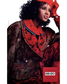 Iman -  I think I shot that ad in1988  #ThrowbackThursdays  #fashionmodel #supermodel