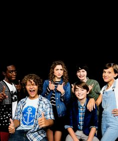 Stranger Things Cast + AOL Build 2016