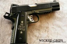 Wicked Grips from Davison MI. Full review of the best 1911 grips on the market.