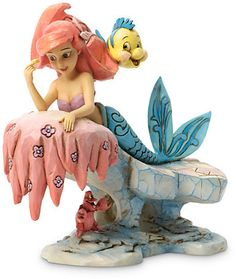 Ariel ''Dreaming Under the Sea'' Figure by Jim Shore