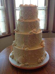 Mexican each wedding cake