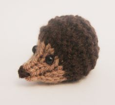 Harry Hedgehog - Knitted Toy Box