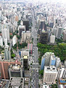 Sao Paulo, Brazil. Anthony Bourdain describes it as if Los Angeles threw up on New York. Sounds like a good place to find some amazing food.