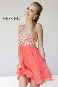 Vestidos egresadas cortos. Nueva colecci�n de modelos Sherri Hill.