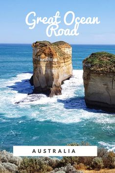 ☆ The GREAT OCEAN ROAD in #AUSTRALIA // #australien #greatoceanroad Ocean, Water, Outdoor, Australia, Gripe Water, Outdoors, The Ocean, Outdoor Games, The Great Outdoors