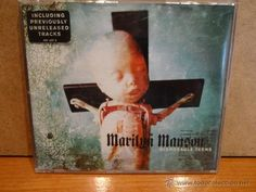 MARILYN MANSON. DISPOSABLE TEENS. CD / NOTHING - 2000. 3 TEMAS. CALIDAD LUJO.