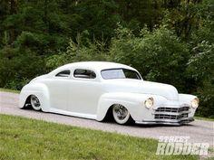 1947 Ford Coupe Street Rodder/ So slick' Chevrolet Bel Air, Chevrolet Camaro, Jessy James, Vintage Cars, Antique Cars, Jet Packs, American, Old School Cars, Rat Rods