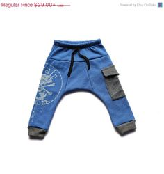 ON SALE   Boys pants  Pirat harem pants  by TuliBertKids on Etsy, $23.20