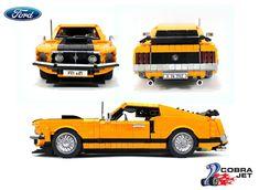 Mustang Mach 1, Ford Mustang, Avion Lego, Lego Pumpkin, Future Concept Cars, Lego Technic Sets, Lego Truck, Amazing Lego Creations, Lego Construction