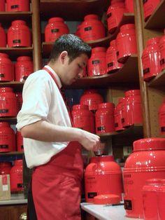 Mixing Tea at Hediard, Place Madeleine, Paris
