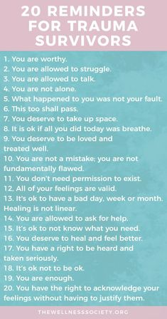 Healing Trauma: The Ultimate Online Guide Plus Free 42 Page eBook + Affirmations Cards Understanding and healing trauma: a comprehensive online guide from The Wellness Society Mental Health Therapy, Mental And Emotional Health, Emotional Abuse, Mental Health Awareness, Mental Health Treatment, Ptsd Awareness, Trauma Quotes, Codependency Quotes, Codependency Recovery