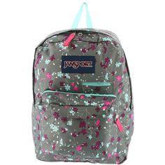 JanSport Digibreak Backpack Grey Bags ($38) ❤ liked on Polyvore featuring bags, backpacks, grey, tote bag, handbags totes, grey tote, backpack totes and jansport backpacks