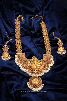 Temple Jewellery Haram Designs, Antique Temple Jewellery Haram Collections, Beautiful Temple Harams.