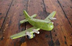 Wooden plane www.waringsathome.co.uk