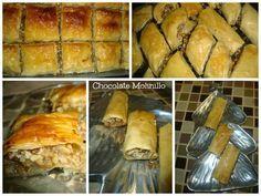 Dulces árabes (Baklava, Dedos de Novia o de Reina) | chocolatemolini