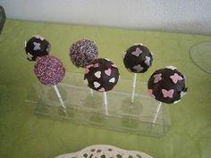 Há sempre qualquer coisa!: Cake-pops de chocolate