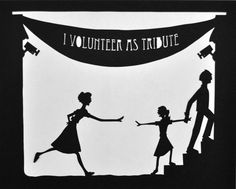 Hunger Games Silhouettes