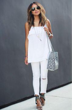 all white attire