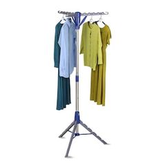 Air-drying is a breeze with the Honey Can Do Tripod Drying Rack , a space-efficient clothing rack that can hold up to 36 garments. Easy to store,. Drying Rack Laundry, Clothes Drying Racks, Clothes Dryer, Hanging Clothes, Clothes Hanger, Fractions, Tripod, Home Depot, Wardrobe Rack