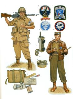 """US World War II Parachute Infantry Regiments"" by Gordon L. Rottman,"