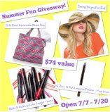 #Rafflecopter ~ Win A Summer Fun Prize Pack That Includes A Reversible Beach Bag, A Sunny Disposition Hat & More ~ USA  http://www.linkiescontestlinkies.com/2013/07/rafflecopter-win-summer-fun-prize-pack.html