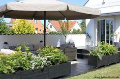 Outdoor Spaces, Outdoor Living, Outdoor Decor, Scandi Garden, Plantation, Balcony Garden, Garden Styles, Garden Planning, Garden Projects