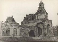 Музей А.В.Суворова. Разрушения.  1950 год.