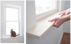 How to Remodel a Homestead Window Sill Project  Homesteading  - The Homestead Survival .Com