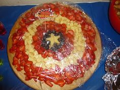 My Guide To Home Made: Superhero Party: The Food: Desserts Table