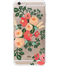 RIFLE PAPER Peach Blossom iPhone case