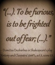 an introduction to the role of enobarbus in antony and cleopatra by william shakespeare —enobarbus, on cleopatra 22244 a roman tragedy by william shakespeare it can be viewed as a sequel to julius caesar, though more for historical than thematic reasons shakespeare's source for the play was thomas north's 1579 translation of plutarch's lives, and the play is essentially an adaptation of it.