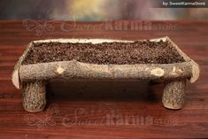 Real Wood Unique Rustic Newborn Baby / Doll Log Wooden Platform Bed Photography Prop by RenegadesRanch on Etsy https://www.etsy.com/listing/169097774/real-wood-unique-rustic-newborn-baby