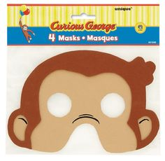 Go bananas over these adorable Curious George party supplies for your next party! We've got everything you need right here from plates, napkins, and cups to favors and decorations. Curious George Costume, Curious George Party, Curious George Birthday, 4th Birthday Parties, Birthday Favors, Baby Birthday, Birthday Ideas, Birthday Bash, George Kids