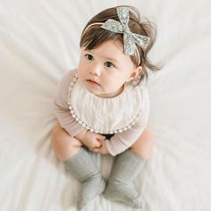 baby girl outfit. adorable neutrals