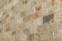 "Mosaic Tile - Travertine Series - Tuscany Scabas Split Face / 2""x4"""